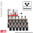 Panizzi Chianti + Wine Essential Set