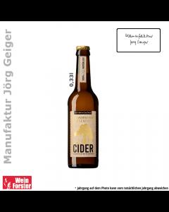 manufaktur jörg geiger Cider feinherb