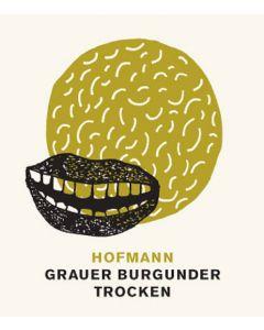 Weingut Hofmann Grauer Burgunder Etikett