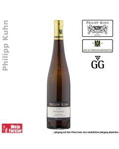 Weingut Philipp Kuhn Riesling Burgweg Großes Gewächs GG