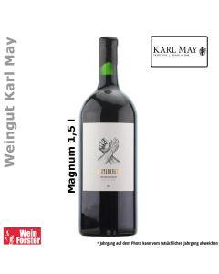 Weingut Karl May Blutsbruder Rot Magnum