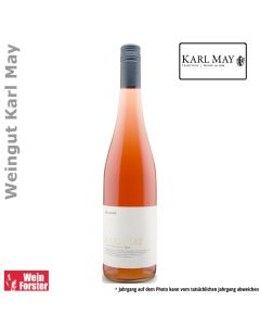 Weingut Karl May Rosarot rose