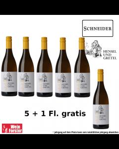 Schneider Hensel & Gretel weiss 5+1 Aktion