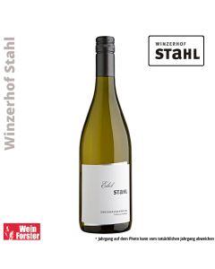 Winzerhof Stahl Scheurebe Zweimännerwein
