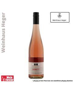 Weingut Dr. Heger Sonett Rose Spätburgunder