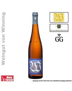 Weingut von Winning Riesling Langenmorgen Großes Gewächs GG