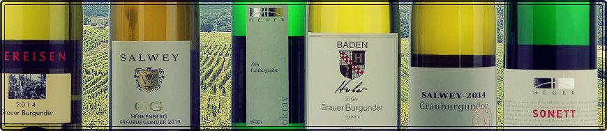 Grauburgunder Weisswein aus Baden